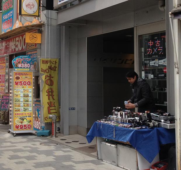 秋葉原駅 中古カメラ店